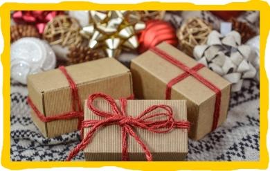 Poděkování za vánoční dárky