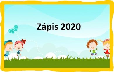 AKTUALIZOVÁNO: Zápis do 1. třídy – 2020