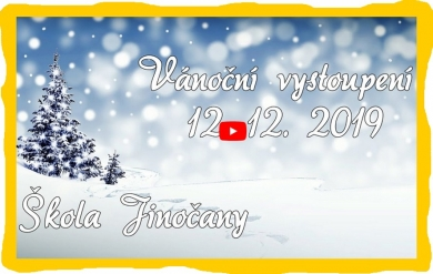 Vánoční vystoupení 12.12.2019