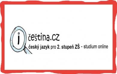 Online přehled českého jazyka pro 2. stupeň